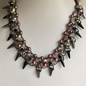 Pointed Bead Necklace